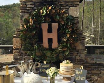 Live Magnolia Wedding Wreath