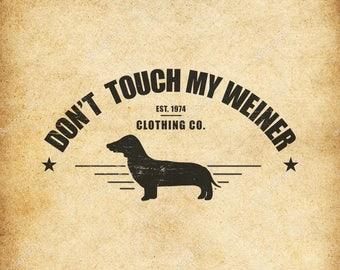 Pet weiner shirt