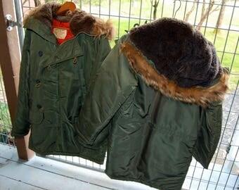 Military Flying Parka Jackets Type N-3B Super Warm