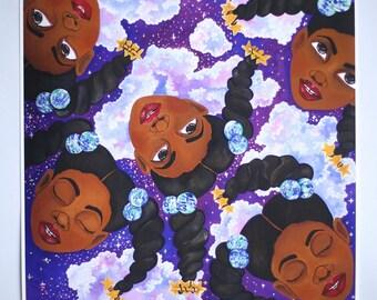 Violet Dreams Print