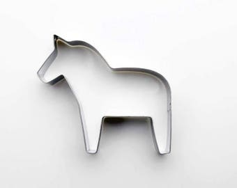 Horse Cookie Cutter - Animal Fondant Biscuit Mold - Pastry Baking Tool Set