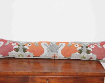 Woodland Red Squirrel Draft Excluder