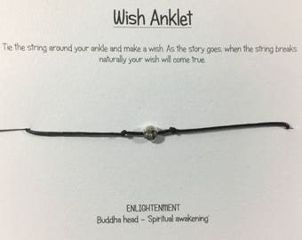 Wish anklet three styles to choose from