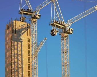 cranes of south east london