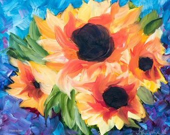 Sunflower Bursts
