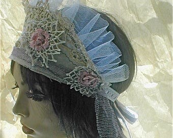 Lace and Beaded Tiara