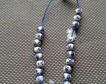 Old Chinese porcelain bracelet for girls