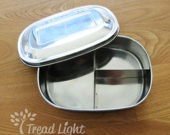 Eco Friendly Stainless Steel Small Lunch Box