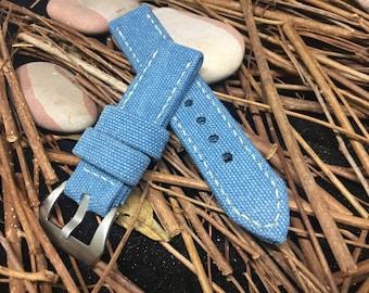 handmade canvas straps
