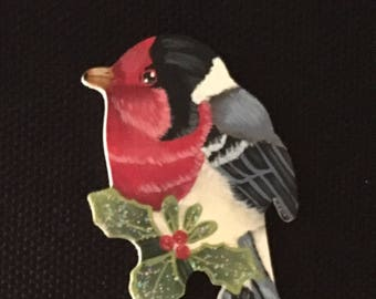 Painted songbird Ornament
