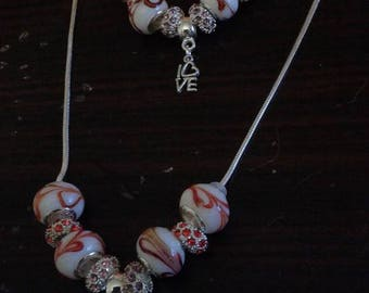 pandora necklace and bracelet 1 1 full