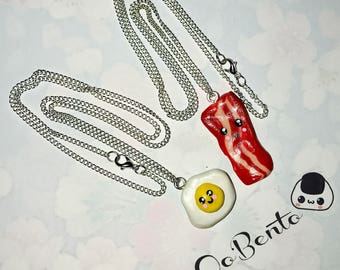 You are the Bacon to my Egg Necklace