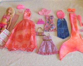 Blonde Hair Barbie w/Blue Eyes, Flat Feet & Straight Legs Gift Set