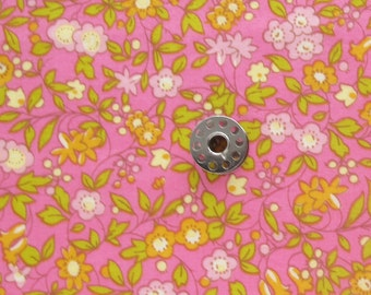 FAT EIGHTH Floral Cotton Lawn Fabric | OOP Darling Clementine Cotton Lawn Fabric from Timeless Treasures