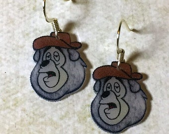 Big Al earrings (Frosted)