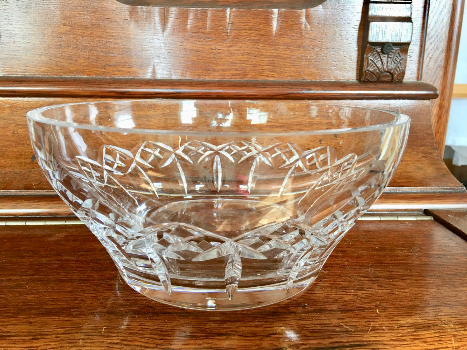 Lenox lead crystal vintage bowl centerpiece wedding gift
