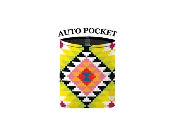Auto Pocket - Aztec - Citrus - Car Accessory Automobile Caddy
