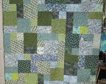 Blue & Green Quilt