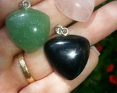 Australian Black Jade Pendants