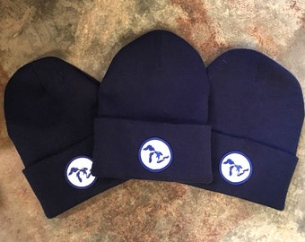 Navy Great Lakes Winter Beanie