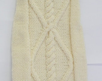 pet sweater jacket - made to measure to fit any breed including dachshund - other colors are possible - warm alpaca wool