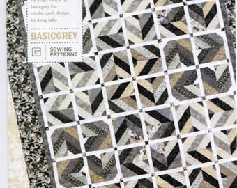 Best Dressed quilt pattern from Basic Grey  - jelly roll friendly