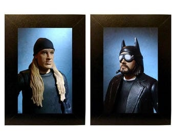 Framed Jay and Silent Bob Toy Photograph Set
