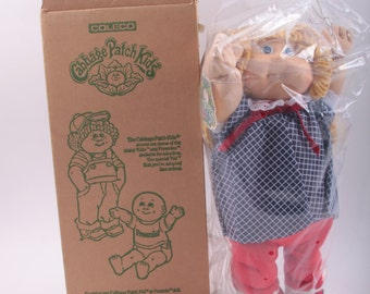 Vintage, Cabbage Patch Kids, CPK, Doll, MIB, In Original Shipping Box, JC Penny Exclusive, Birth Certificate, Girl 161111