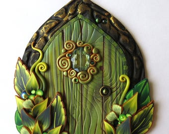 Absinthe...The Green Fairy, Miniature Fairy Door