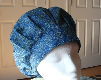 Peace Bouffant Style...............Surgical Hat....Bakers Hat