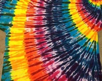 tie dye size 5XL Rainbow Swirl shirt tye die tiedyes