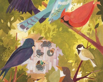 Birdwatcher: Print
