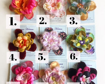 SALE  handmade flower floral Brooch Corsage accessory accessories