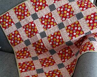 Baby Quilt - Organic Cotton Bernard