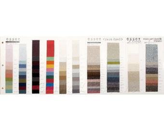NEW Robert Kaufman ESSEX LINEN color card