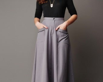 Deer & Doe Sewing PATTERN - Fumeterre Skirt - Sizes 34 - 46