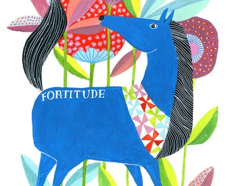 Print: Fortitude by Lisa Congdon