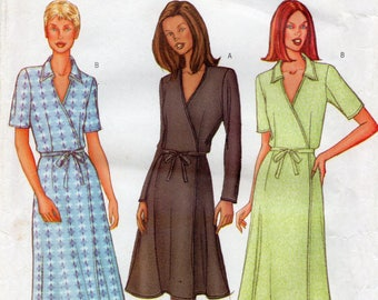 Butterick 3078 Misses Petite Dress Uncut Pattern Size 18-20-22 Copyright 2001