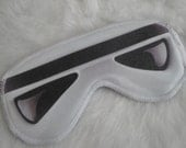 Freak Them Out Sleep Mask GALE FORCE * FreakyOldWoman FOW sleep mask blindfold eyes storm trooper star wars may the force be with you