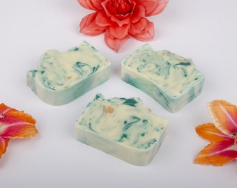 Cucumber Melon Soap -  Homemade Soap - Cold Process Soap - Gift for Her - Mothers Day Gift
