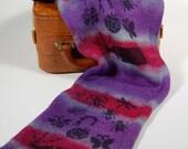 SPARKLE Single knit sock blank- Bug Spray- one of a kind