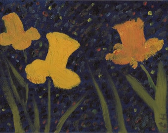 Daffodils 0il painting