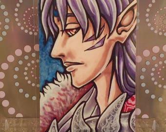 """Sesshomaru - 6x4"""" Matte Art Print"""