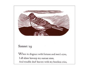 Shakespeare's Sonnet 29