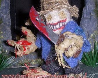 Evil Scarecrow- Chenille Stem Miniature