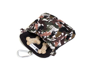 The Pocket 2.0 - Treat and Training Pouch - Dog Camo