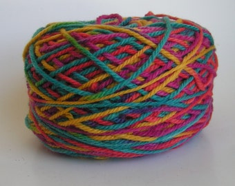 Yarn SALE PLYMOUTH Outback Virgin Wool Worsted Color 995 Lot 30346 Apprx 200 g 374 yds