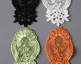 Embroidered Venise Lace Applique