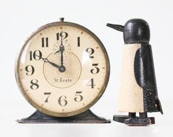 Vintage Penguin Toy, Ramp Walker Walking Toy