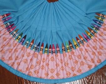 Equinox lattice vine Crayon apron